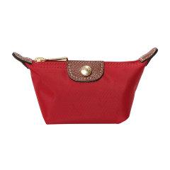 Longchamp/珑骧 经典款蓝/红色零钱包尼龙钱包小包 3693 089 556图片