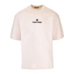 Balenciaga/巴黎世家 20年秋冬 百搭 男性 男士短袖T恤 612966TJVD9图片