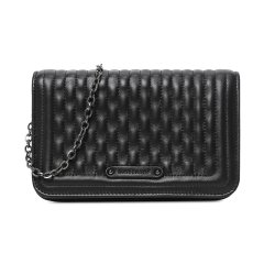 Longchamp/珑骧 方形小号黑色链条包经典款皮质女士单肩包斜挎包 L4559 941 001图片