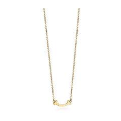 【预售9月10号左右发货】Tiffany & Co./蒂芙尼18K黄金迷你笑脸项链系列图片