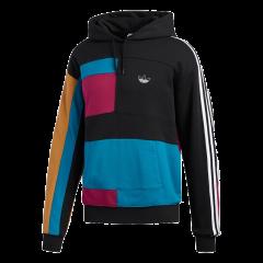 Adidas/阿迪达斯 20年秋季 男款 三叶草 运动 休闲 简约 连帽 套头衫 卫衣 ED5600图片