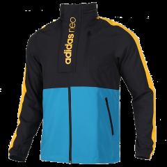 Adidas/阿迪达斯 20年秋冬 男款  NEO 运动 休闲 防风 夹克 外套 FK5815图片