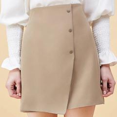 【DesignerWomenwear】Fate Flight/Fate Flight/女士半身裙/简约不规则A字半裙图片