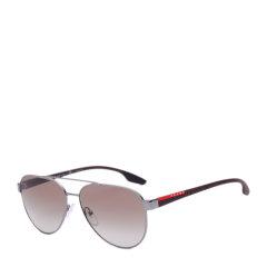 PRADA/普拉达太阳镜男士经典飞行员墨镜经典红标运动系列眼镜SPS54T图片