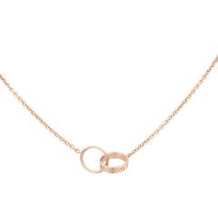 【预售两周发货】卡地亚 Cartier 项链 LOVE项链 玫瑰金 内径:8毫米。链条长度:440毫米 B7212300图片