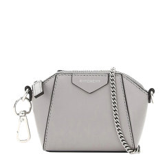 Givenchy 纪梵希 女士包袋 20秋冬黑色字母徽标链条包 斜跨包 单肩包图片