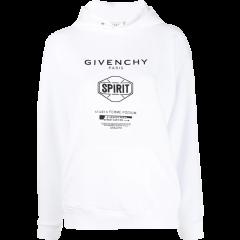 【20秋冬】Givenchy/纪梵希  女士黑色棉质卫衣 BW70643Z33-001图片