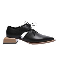 【ONTIME】【20秋冬】CHULI SHANA/CHULI SHANA 隐 两色 中跟鞋图片