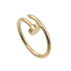 【预售两周发货】卡地亚 Cartier 戒指 JUSTE UN CLOU戒指,小号款 黄金 宽度:1.8毫米 B4225900图片