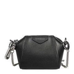 【包邮包税】Givenchy 纪梵希 女士包袋 20秋冬黑色字母徽标链条包 斜跨包 单肩包图片