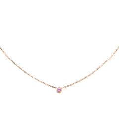 【预售两周发货】卡地亚 Cartier 项链 SAPHIRS LÉGERS DE CARTIER项链 玫瑰金  B7218400图片