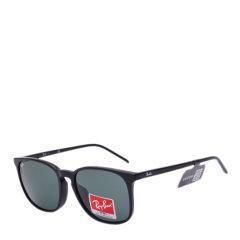 Ray-Ban/雷朋太阳镜男女款方框复古墨镜树脂片时尚防紫外线眼镜RB4387F图片