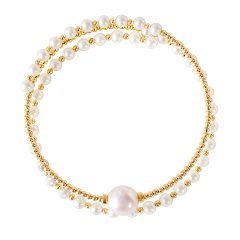 CLORIS/克劳瑞斯【新品】精致工艺时尚 淡水珍珠手镯 手链 手环图片