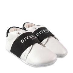 Givenchy/纪梵希 20年秋冬 百搭 男童 logo 白色 儿童运动鞋 H9902410BB图片