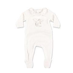 CHLOE/克洛伊 20年秋冬 百搭 女童 logo 白色 婴幼儿上装 C97256117B图片