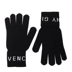 Givenchy/纪梵希 20年秋冬 百搭 男性 logo 黑色 手套 GVGUAN/U18411图片