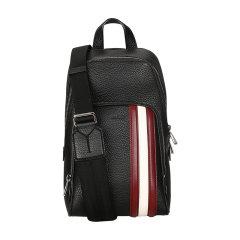 BALLY/巴利 奢侈品 男士黑色皮质单肩包 COLIMAR TSP 00 6228787图片