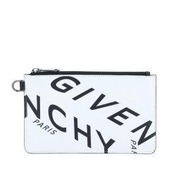 Givenchy/纪梵希 20年秋冬 百搭 男性 logo 白/黑 手拿包 BK603PK0YT 116图片