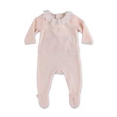 CHLOE/克洛伊 20年秋冬 百搭 女童 粉色 婴幼儿连体衣 C97258440B图片