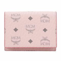 MCM/MCM女款人造革两侧按扣短款钱包图片