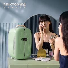 缤兔PINKTOP 专业美妆冰箱 幻境双门系列 面膜护肤化妆品小冰箱口红冰箱小型图片