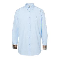BURBERRY/博柏利  男装衬衫21春夏新款男士白色修身剪裁TB标识图案牛津纯棉长袖衬衫  80245141图片