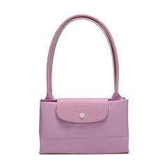 Longchamp/珑骧 纯色黄色/粉色尼龙大容量托特包女士手提包可折叠收纳 L1899 619 P33图片