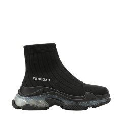 2020秋冬新款DK UGG果冻厚底飞织短筒袜靴DA383图片