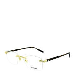 MontBlanc/万宝龙 商务 休闲 无框 纤细 轻薄 男士 光学镜架 近视 眼镜框 眼镜架 MB0088O 56mm MontBlanc 万宝龙图片