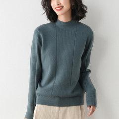 【DesignerWomenwear】Fate Flight/Fate Flight/女装>女针织衫/毛衣>女士针织衫/毛衣/短款半高领打底针织衫图片