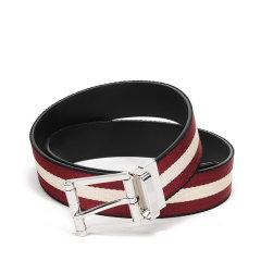 【国内现货】BALLY/巴利  男士织物配皮针扣式双面皮带腰带 TAYLAN 35 M图片