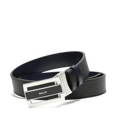【现货秒发】BALLY/巴利 男士牛皮板扣式双面皮带腰带 FABAZIA 35图片