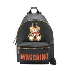 【包税】MOSCHINO/莫斯奇诺女士时尚马戏团魔术熊印花双肩包7T76338210图片