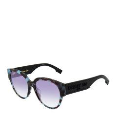 DIOR/迪奥 复古 摩登 猫眼 板材 大框 女士 太阳镜 渐变色镜片 加宽镜腿 3色可选 墨镜 眼镜 DIORID2 55mm DIOR 迪奥图片