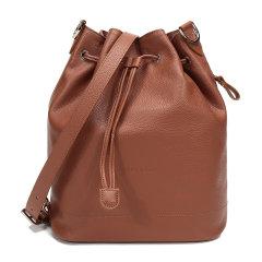 Longchamp/珑骧 女士LE FOULONNE系列牛皮水桶包单肩斜挎包中号 10062 021图片