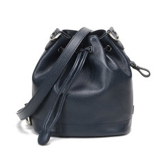 Longchamp/珑骧 女士LE FOULONNE系列牛皮水桶包单肩斜挎包小号 10061 021图片