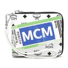 MCM/MCM20秋冬新款旅行印花拉链人造革钱包MZS9SVI95CO001图片