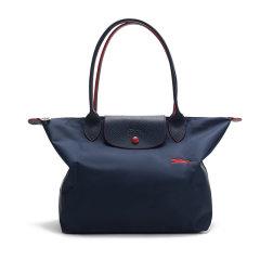 Longchamp/珑骧 女士LE PLIAGE CLUB系列织物小号长柄可折叠手提单肩包饺子包 2605 619图片