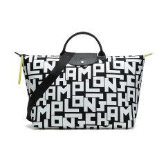 Longchamp/珑骧 女士LE PLIAGE LGP系列字母图案织物大号手提单肩包旅行袋 1624 413图片