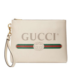 GUCCI/古驰 Gucci Print系列手拿包 皮质 572770 0Y2AT图片