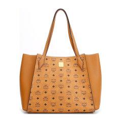 MCM/MCM 女士LuisaVisetos系列人造革配皮中号手提单肩包购物袋 MWPAALZ01图片