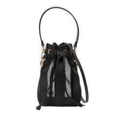 FENDI/芬迪 MONTRESOR系列 女士拼接镂空牛皮迷你水桶包单肩包手提包女包图片
