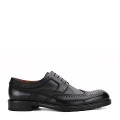 ROBERTADICAMERINO/诺贝达 光面牛皮-时尚布洛雕花-皮鞋-男士商务鞋休闲鞋图片