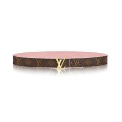 【包税】Louis Vuitton/路易威登  腰带女士经典LV 30 MONOGRAM腰带黑色图片