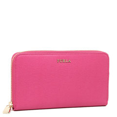 FURLA/芙拉 女士黑色皮革时尚长款拉链钱包钱夹 755244 女包图片