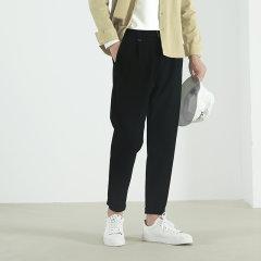 【Designer Menwear】Senza Cieco/Senza Cieco 男士休闲裤 秋季新款男士直筒廓形九分裤长裤图片