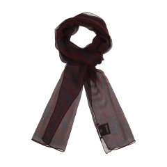 AlexanderMcQueen/亚历山大麦昆 男士蚕丝丝巾围巾 421384 4010Q图片