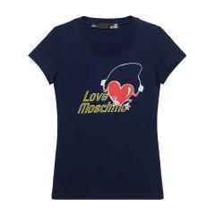 【现货秒发】Love Moschino/Love Moschino 女士短袖T恤 女士棉质圆领短袖T恤 W4B19 5N E1951图片
