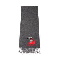 【包税】MOSCHINO/莫斯奇诺圣诞雪橇泰迪熊围巾图片