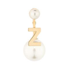 【包税】DIOR/迪奥   My ABCDior Tribale 女士白色珍珠树脂字母耳环 (A-Z)图片